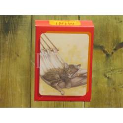 Kat in hangmat minipuzzel