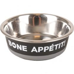 Bone Appetit eetpot 17cm zwart