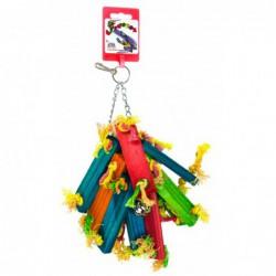 Birrdeeez Parakeet Toy Wood...
