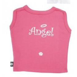 K9 Angel t-shirt roze OP IS OP