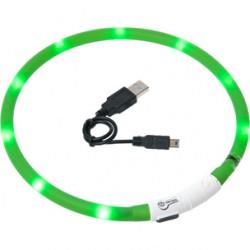 Visio LED halsband groen