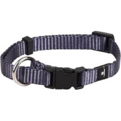 Ziggi halsband granietblauw