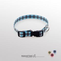 Manhattan halsband blauw