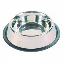 RVS - R.V.S. voerbak met rubber ring