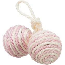 2 Ballen aan touw sisal