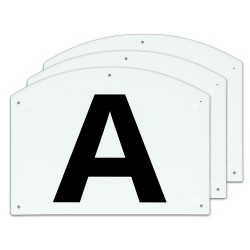 Show Jump letters A-B-C...