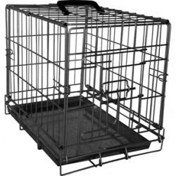 Draadkooi Ebo 47x77x55cm zwart