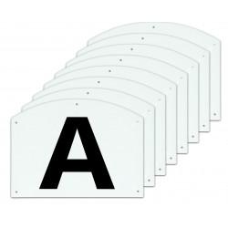 Dressage manege letters...