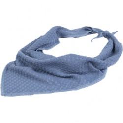 Iona bandana 80cm blauw