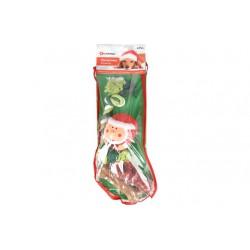 Kerstsok groen 4-delig